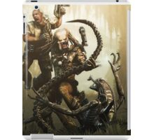 Aliens Vs Predator iPad Case/Skin