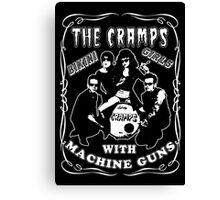 The Cramps (Bikini Girls) Canvas Print