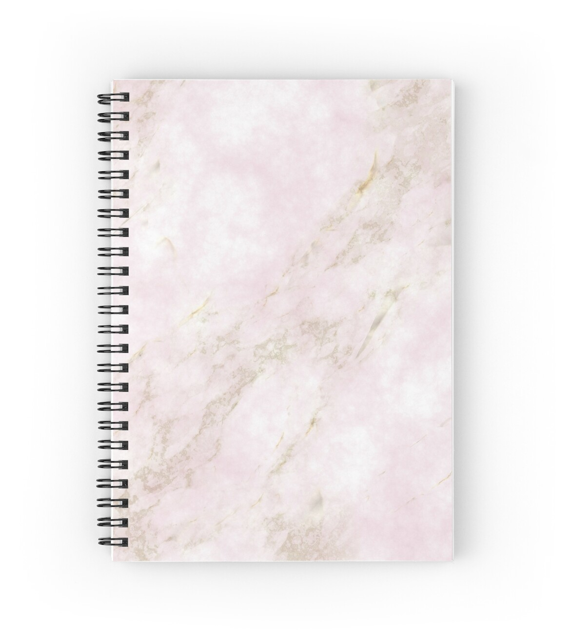 u0026quot rose gold marble u0026quot  spiral notebooks by danrazvan