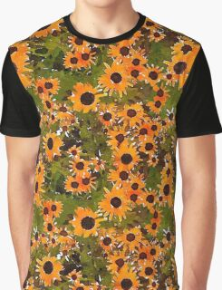 Wild Flower Watercolour Graphic T-Shirt
