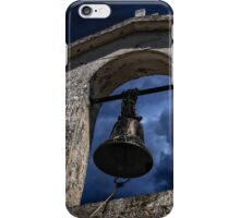 Ancient church bell iPhone Case/Skin