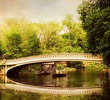 Bow Bridge Reflections  by Jessica Jenney