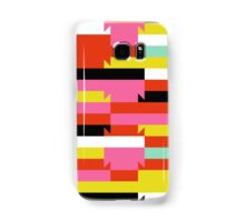 Abstract geometric color blocked pattern Samsung Galaxy Case/Skin
