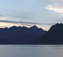 Elgol Sunset (Panorama) by Maria Gaellman