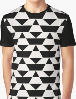 Black and white op art pattern Graphic T-Shirt