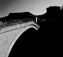 Old bridge Mostar by lejlatabak