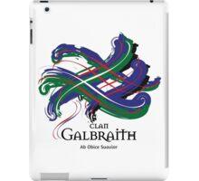 Clan Galbraith - Prefer your gift on Black/White tell us at info@tangledtartan.com  iPad Case/Skin