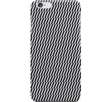 Black and white optical illusion iPhone Case/Skin