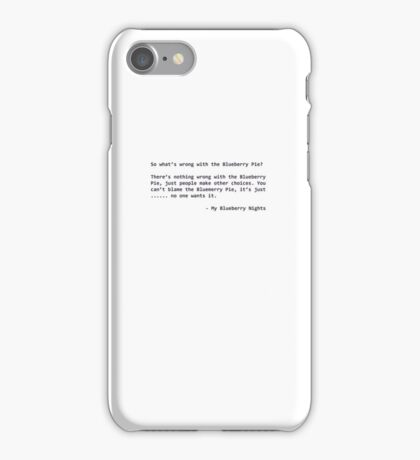 My Blueberry Nights  iPhone Case/Skin