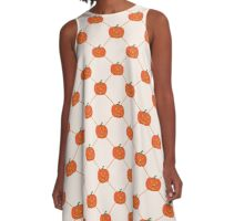 Pumpkin Fest A-Line Dress
