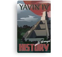 Travel: Yavin IV Canvas Print