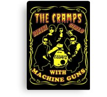 The Cramps (Bikini Girls) Colour Canvas Print