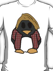 Grunge Penguin T-Shirt