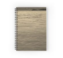 Rippled Water Spiral Notebook