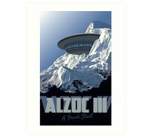Travel: Alzoc III Art Print