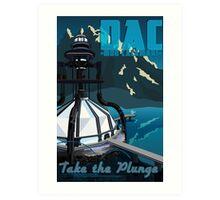 Travel: Mon Calamari Art Print