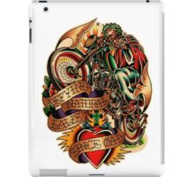 Jesus Wheelie iPad Case/Skin