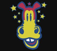 Smiling Cartoon Horse T-Shirts by Cheerful Madness  by cheerfulmadness