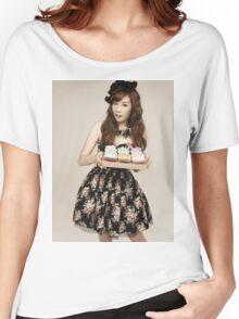 TaeYeon SNSD Girls Generation KPOP Women's Relaxed Fit T-Shirt
