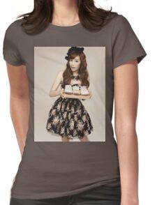 TaeYeon SNSD Girls Generation KPOP Womens Fitted T-Shirt