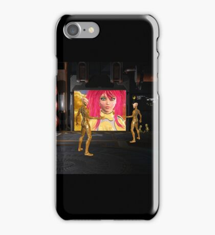 Martians Aliens Alien Princess iPhone Case/Skin