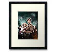 DOCTOR WHO : THE PANDORICA OPENS Framed Print