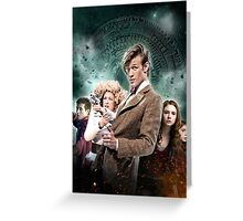 DOCTOR WHO : THE PANDORICA OPENS Greeting Card