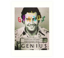 genius pablogo tee Art Print