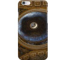 St Peters Basilica Ceiling, Vatican iPhone Case/Skin