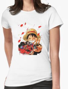 ONE PIECE #09 Womens Fitted T-Shirt