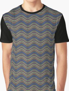 colors Waves  Graphic T-Shirt