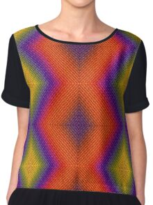 very colorful and beautiful texture. Chiffon Top
