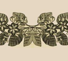 Vintage Floral Garland Sticker