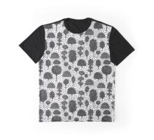Arboretum 230715 - Black on White Graphic T-Shirt