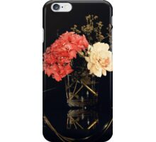Floral still life with Rose and Hydrangea iPhone Case/Skin