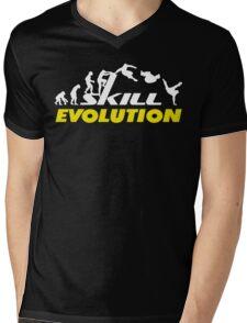 Evolution Parkour Mens V-Neck T-Shirt