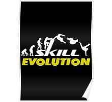 Evolution Parkour Poster