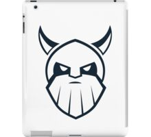 Viking Vector Graphic iPad Case/Skin