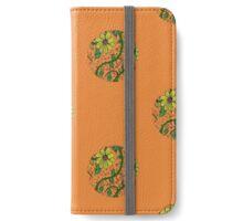 Sunflower - orange iPhone Wallet/Case/Skin