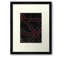 040a - Abstract Framed Print
