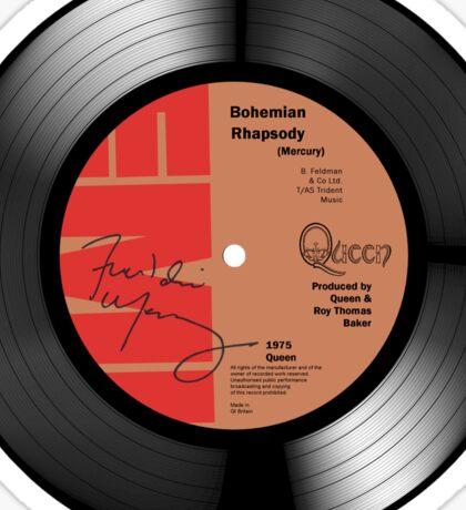 Bohemian Rhapsody Signed Art Sticker
