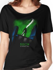 Arrow The Animated Series Women's Relaxed Fit T-Shirt