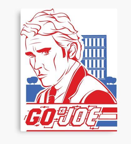 Go Joe (Macmillan) T-Shirt Canvas Print