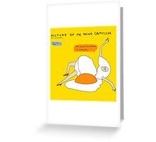 Help me I'm an egg Greeting Card