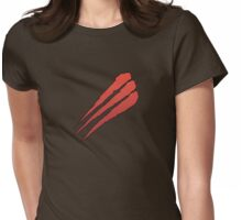 Apocalypse Tribe: Red Talons Womens Fitted T-Shirt