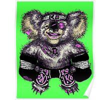 KO-ala Bear Poster