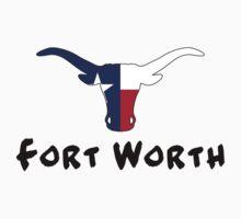 Fort Worth Texas One Piece - Short Sleeve