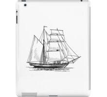 Brigantine Sailing Ship iPad Case/Skin