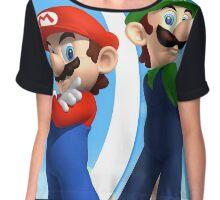 Mario & Luigi Chiffon Top