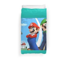 Mario & Luigi Duvet Cover